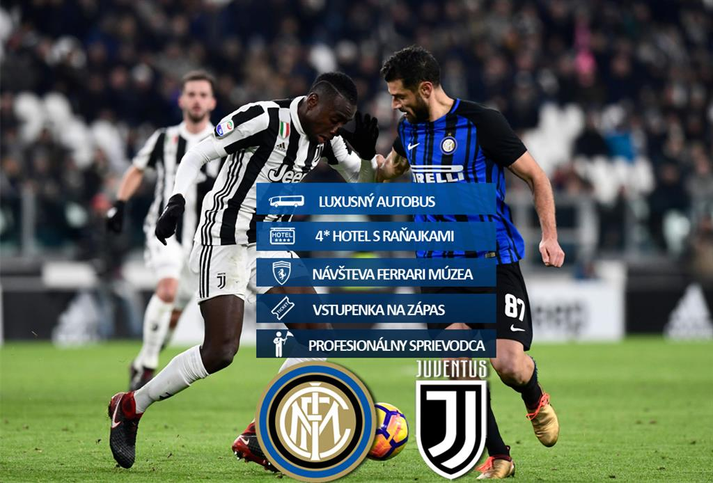 Inter Miláno - Juventus Turín