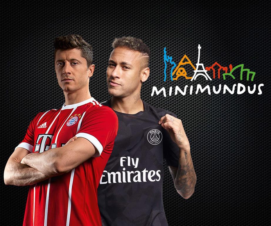 ICC 2018: Bayern - PSG + prehliadka miniatúrneho sveta Minimundus